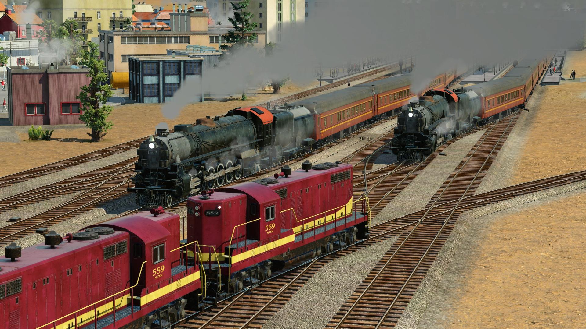 cara crack fl 9 locomotive