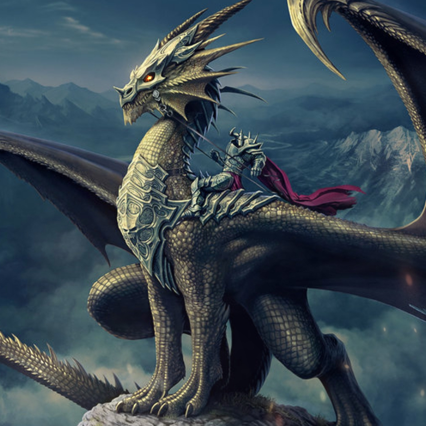 Dragon Rider Wallpaper Engine