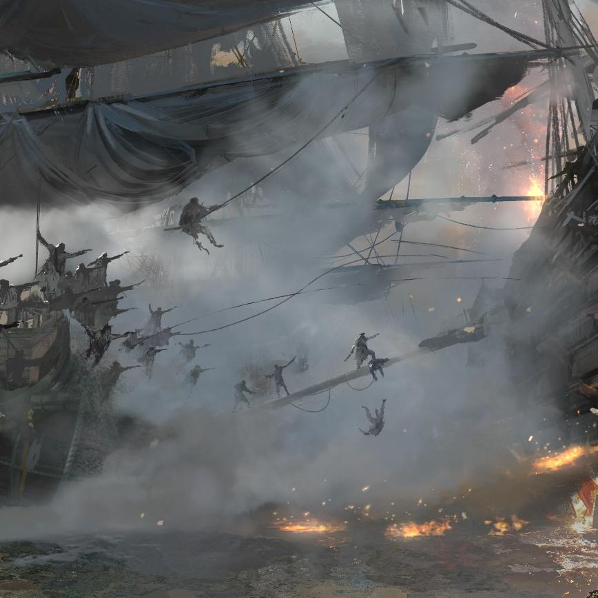 Pirates Battle Wallpaper Engine