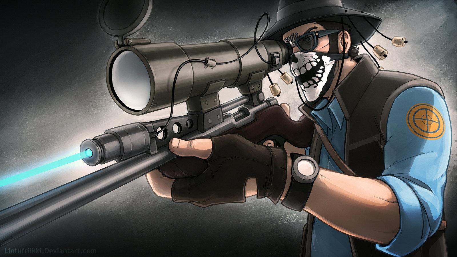 tf2 sniper wallpaper