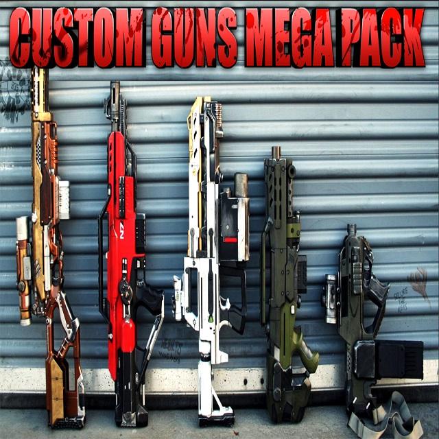 Release - Call of Duty: Black Ops 3 Mods | CUSTOMGUNSMEGAPACK