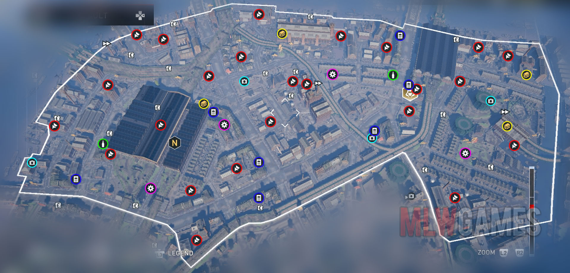 Syndicate Secrets Of London Map.Komunita Sluzby Steam Navod All Collectible Locations In