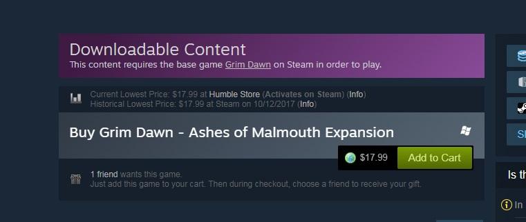Steam Community :: :: enhanced steam - price - Grim Dawn