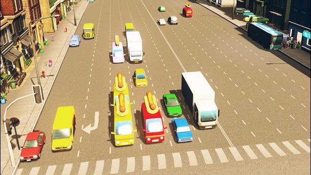 Steam Workshop :: 12 Lane Wide Road With Parking [Bridges