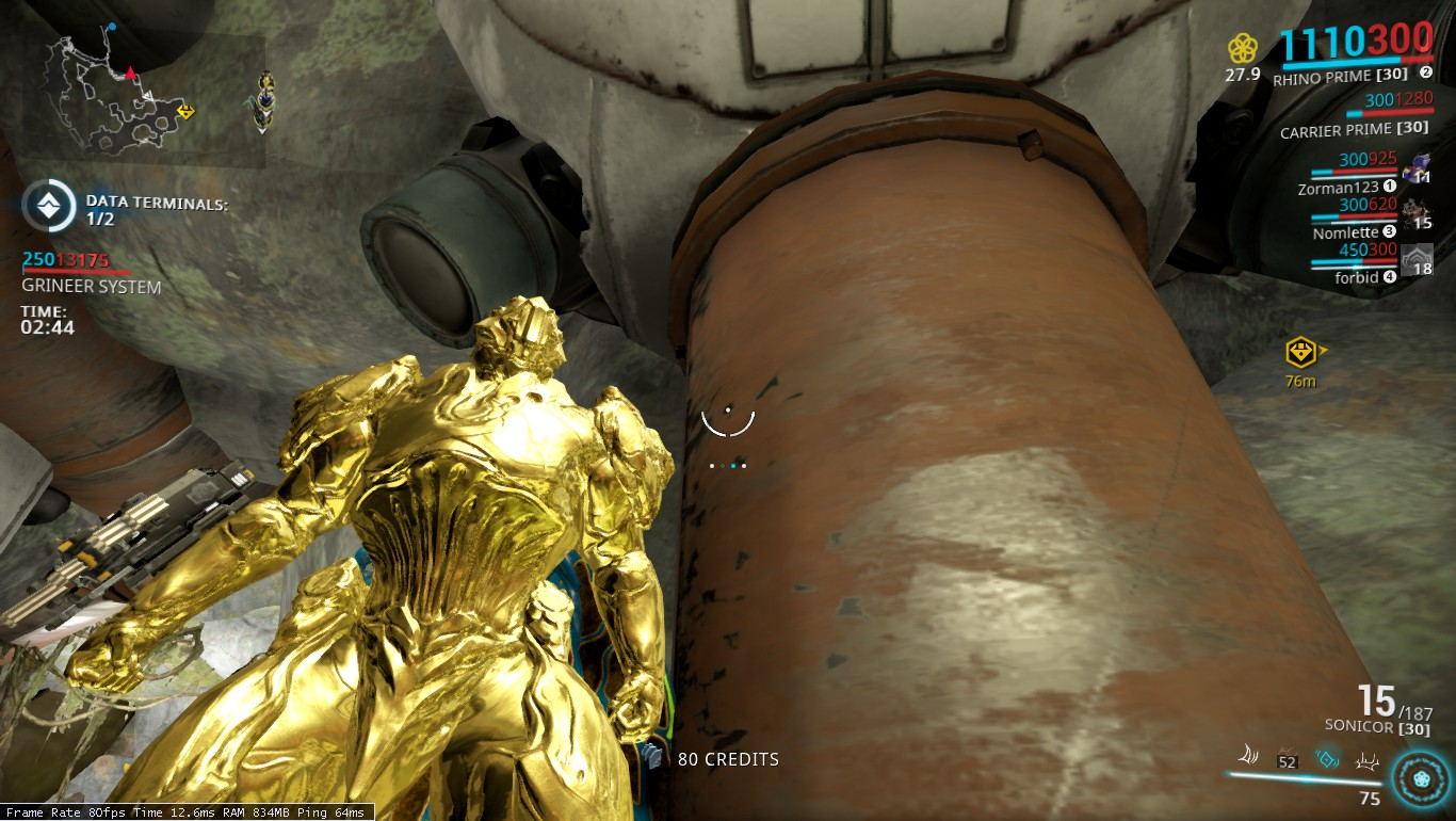 My rhino turned completely gold during iron skin  Why isn't