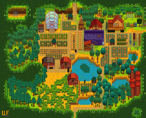 31 Stardew Valley Forest Map Layout Maps Database Source