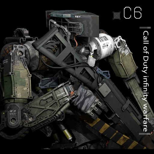 Cod IW C6 Robot Ragdolls