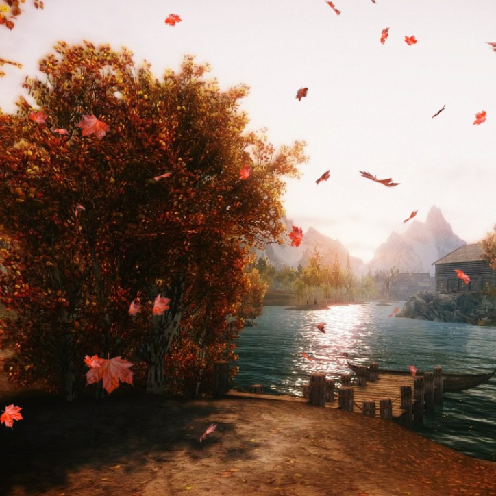 Skyrim Wallpaper Engine