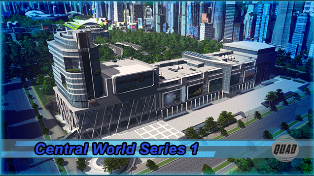 Quad's Central World Series 1 - SKYMODS