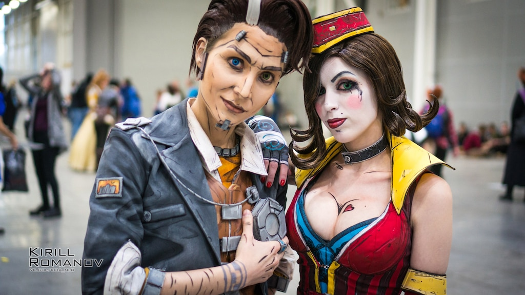Steam Toplulugu Moon Moxxi And Handsome Jack Cosplay