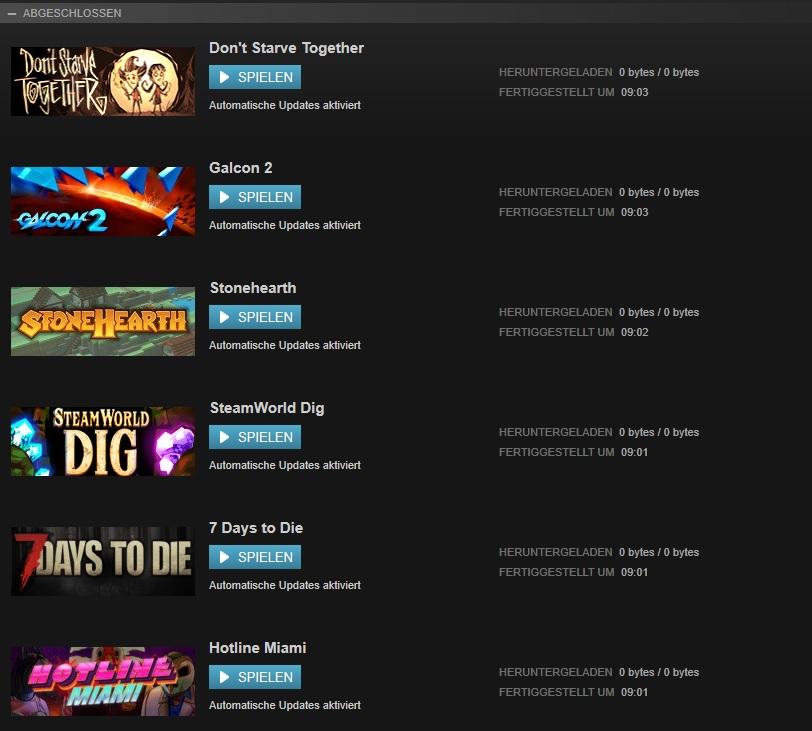 Steam Community :: :: Downloads 0 bytes