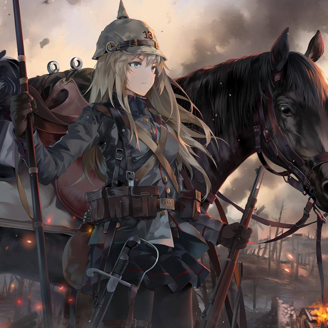 Anime Word: Battlefield Wallpaper Engine