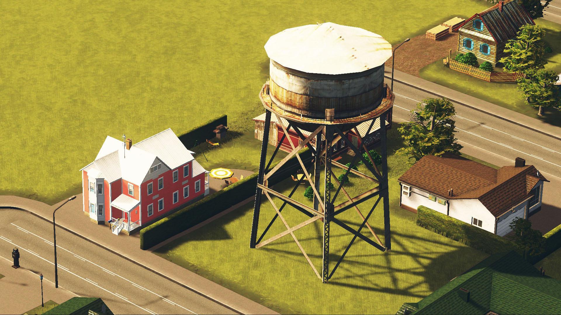 Steam Workshop Water Tower