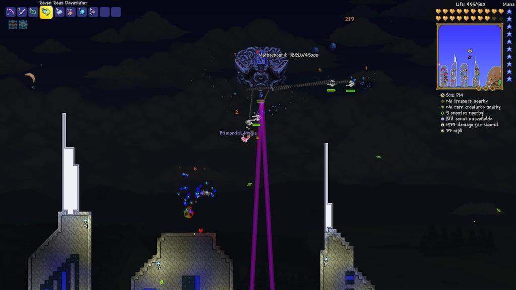Steam Community :: Screenshot :: Motherboard boss (Terraria