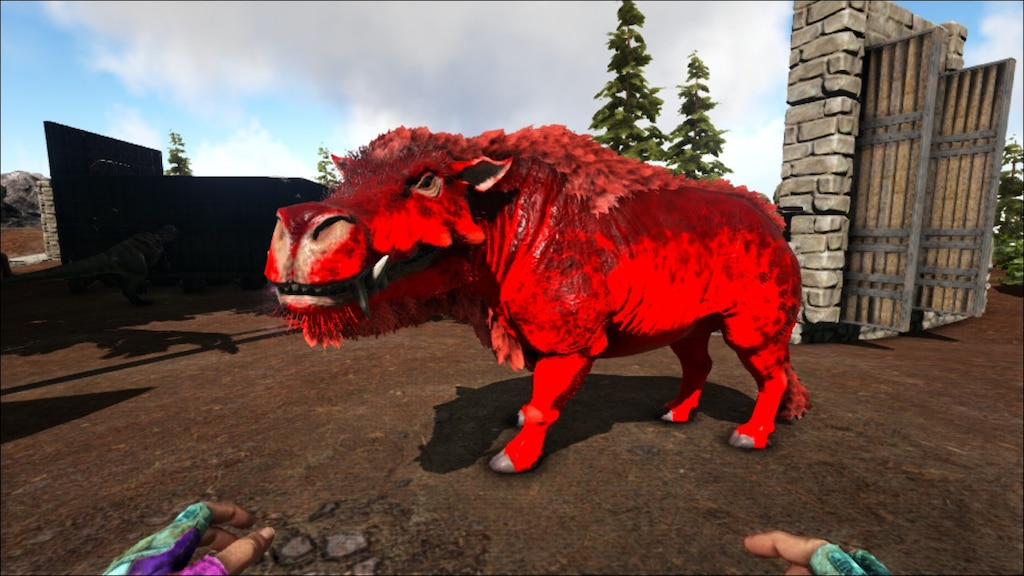 Comunidade Steam Captura De Ecra Hell Pig Another Mutated Daeodon Admincheat summon daeodon_character_bp_c or admincheat spawndino blueprint'. hell pig another mutated daeodon