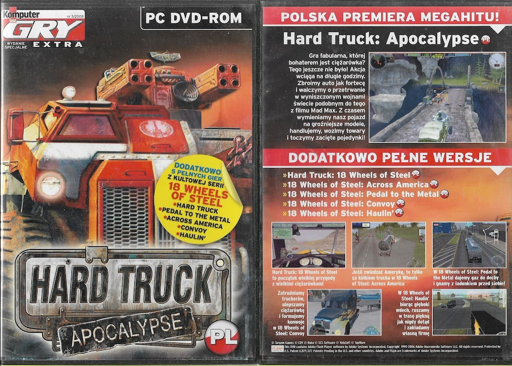 hard truck 18 wheels of steel convoy download full version