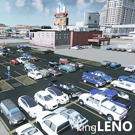 Cities Skylines Parking Lot Collection