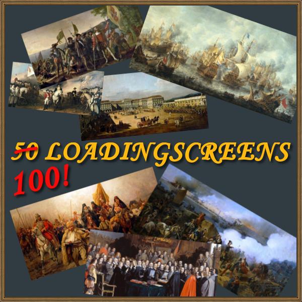 50 Loadingscreens Mod