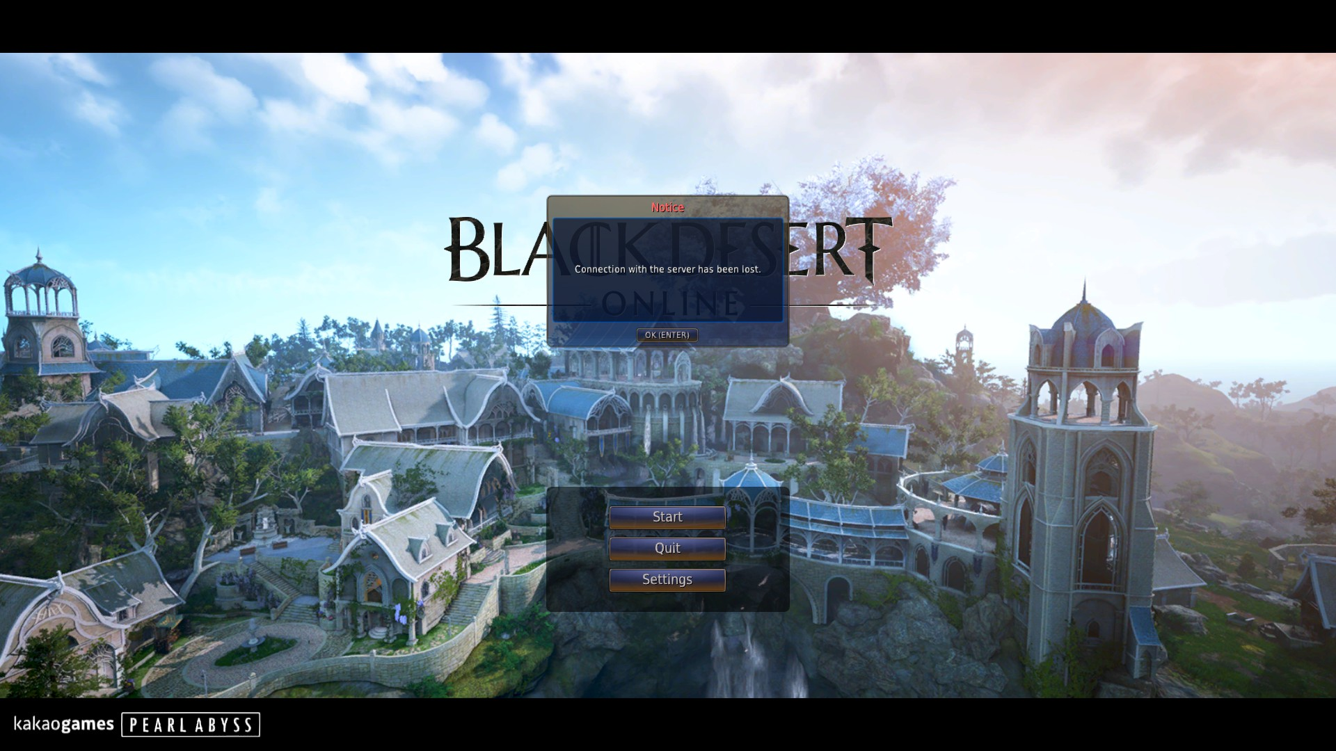 Continuously disconnecting HELP : blackdesertonline