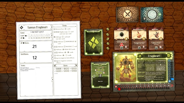 Steam Workshop :: Gloomhaven Scripted Starter Character Sheets