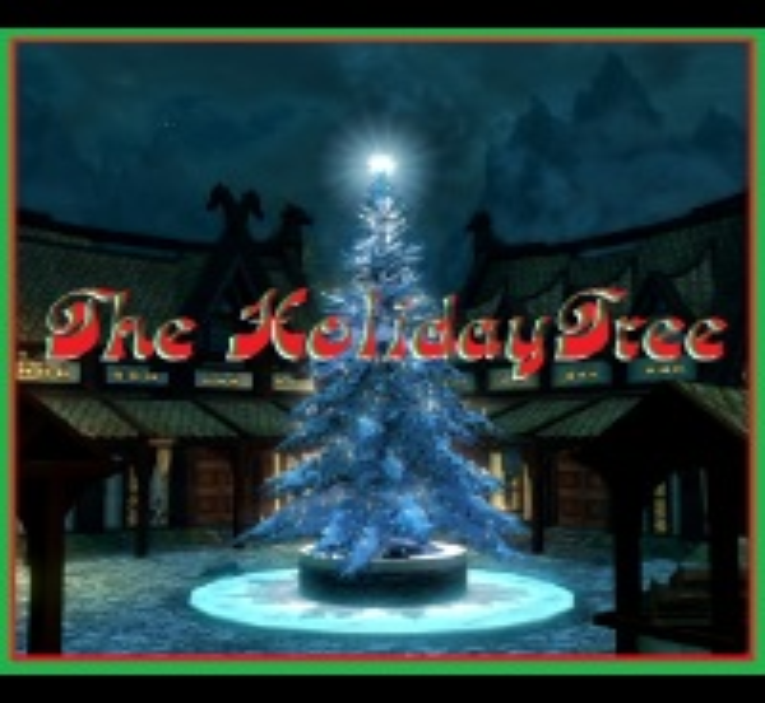 .::\\\V/// The Holiday Tree画像
