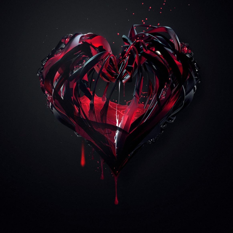 Black Heart Wallpaper Engine