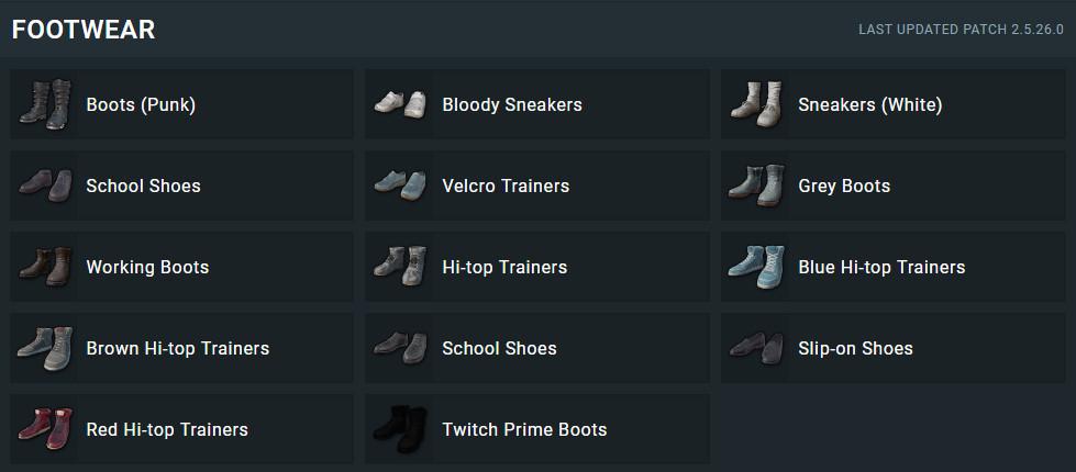 Все оружия и предметы в PUBG