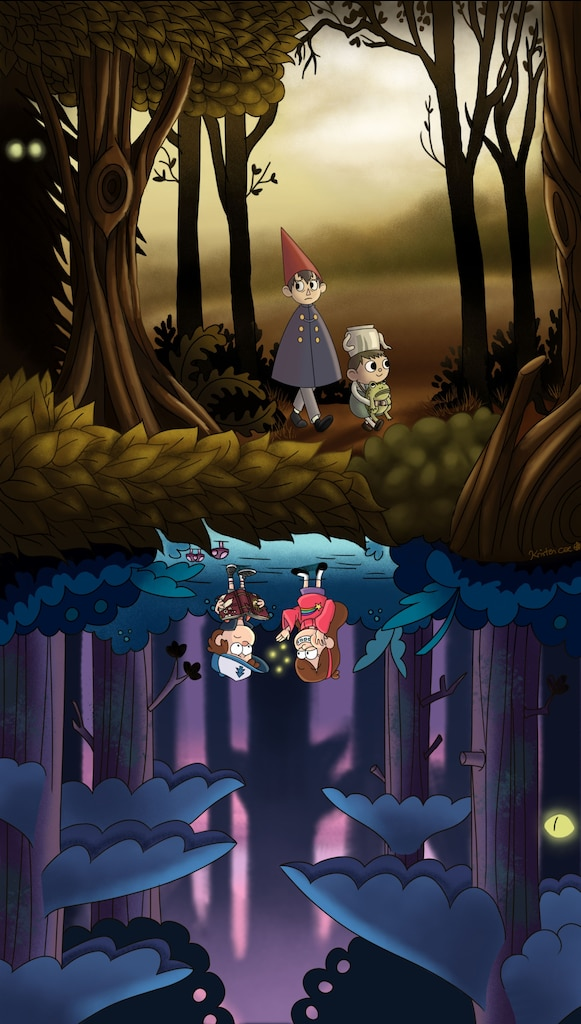 Steam Community Over The Garden Wall And Gravity Falls Artwork
