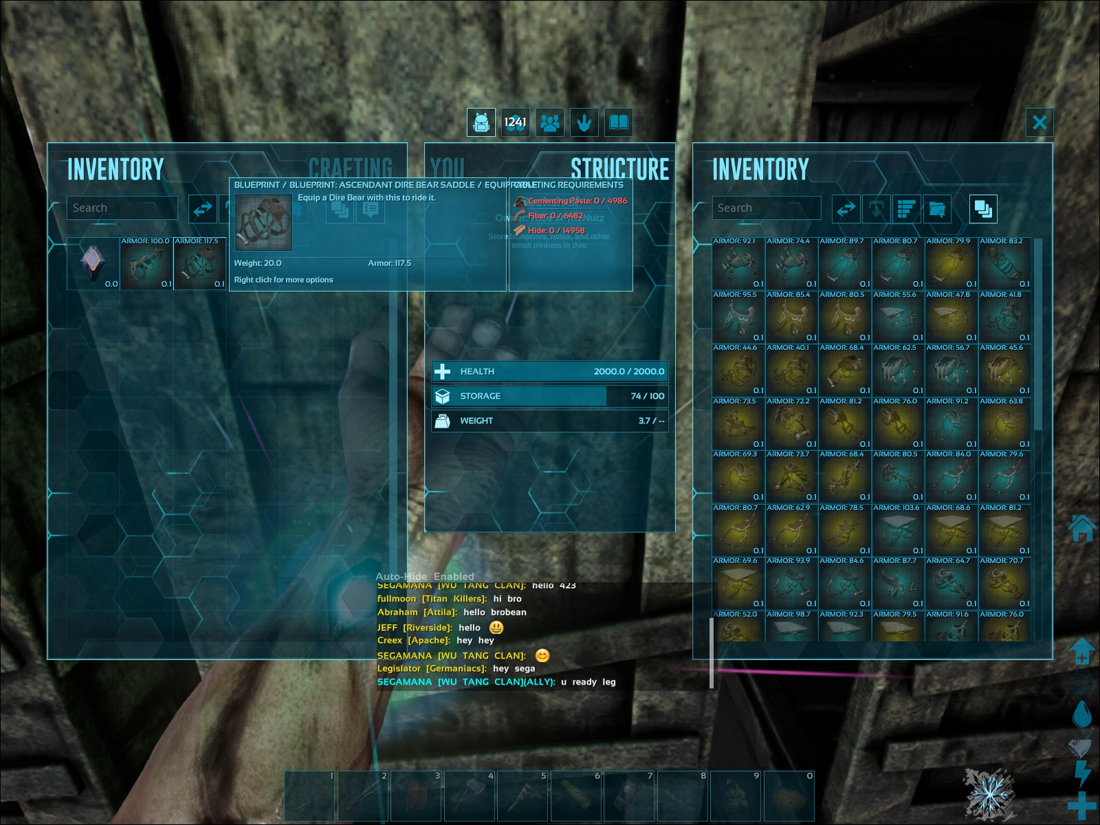Highest Possible Saddle armor BP? - General Discussion - ARK