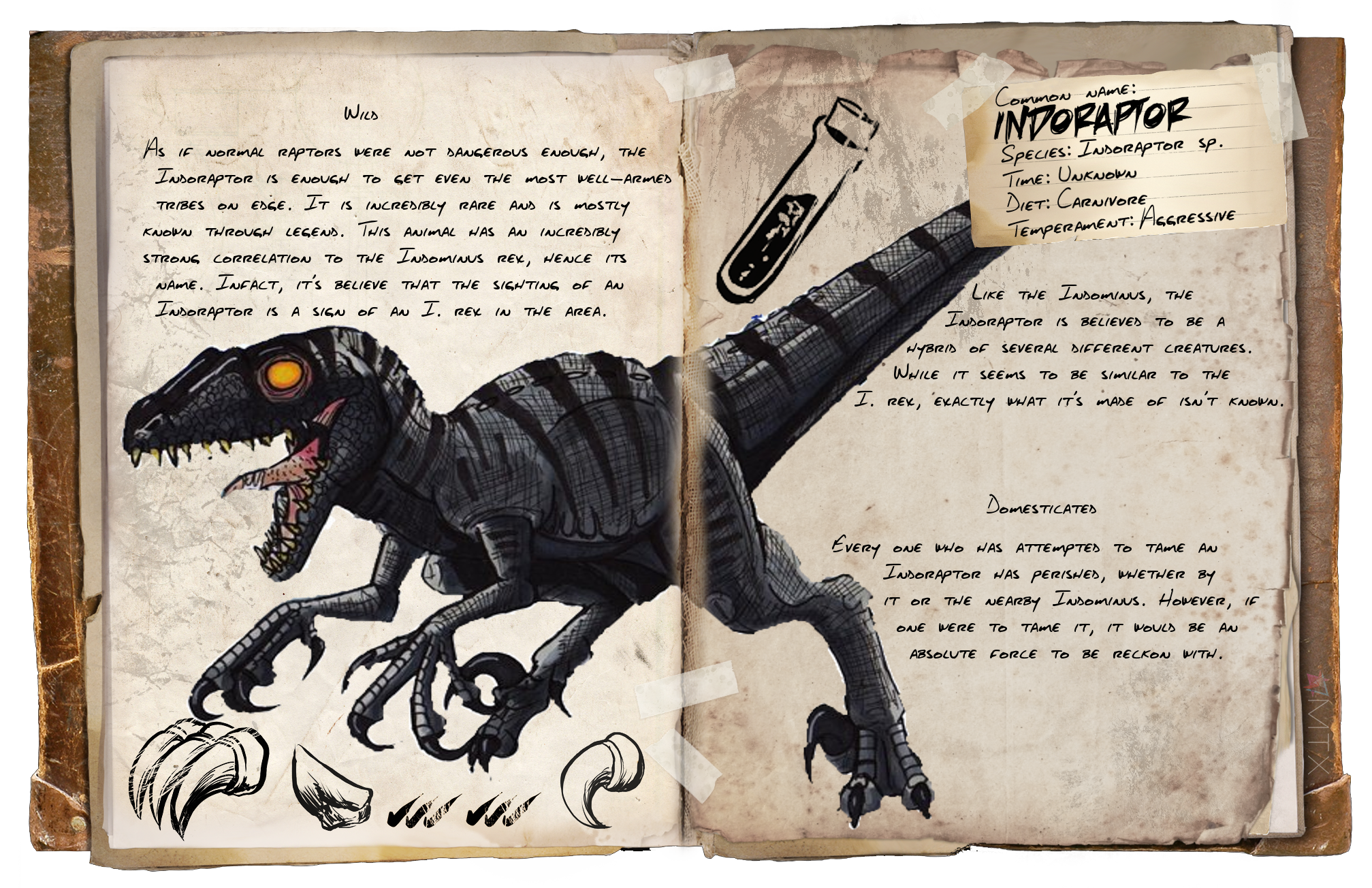 Steam Community Dossier Indoraptor