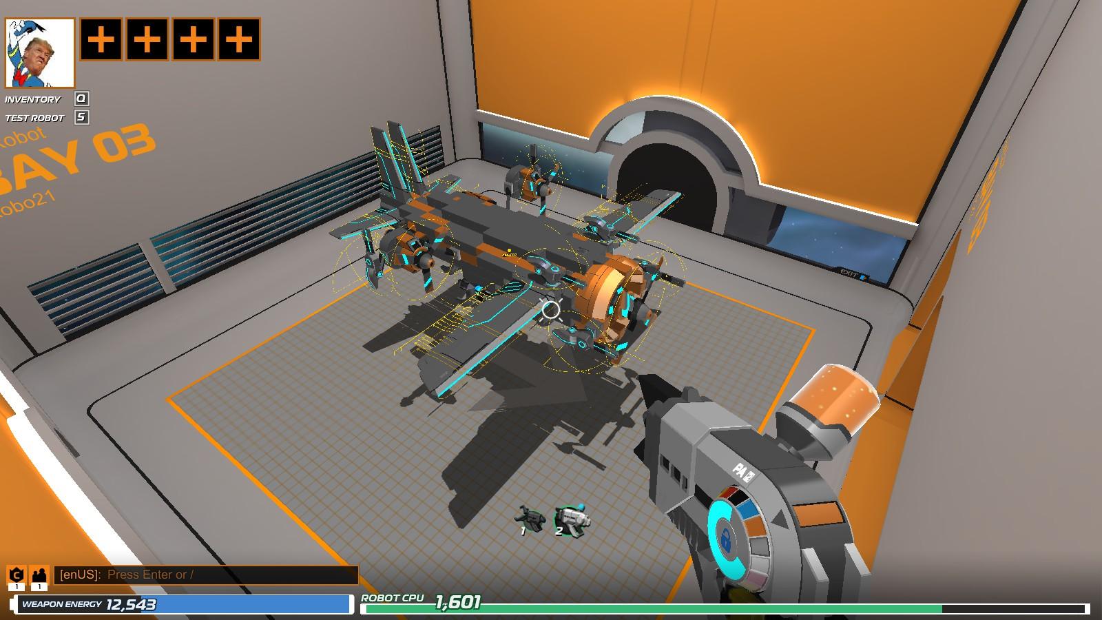 Robocraft rate of fire hack