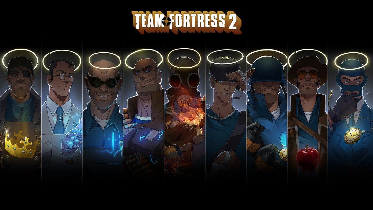 День рождения team fortress
