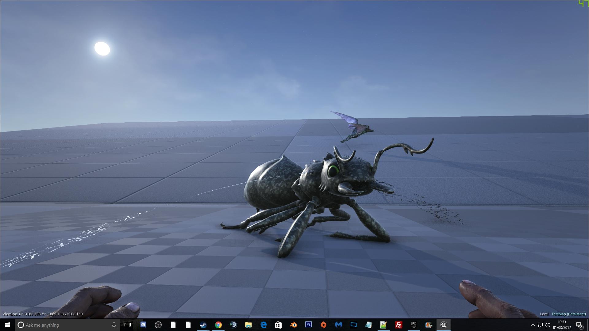 Steam workshop custom dinos battle ants malvernweather Choice Image