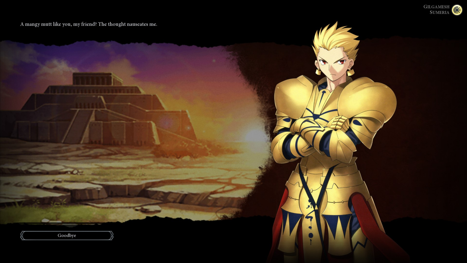 Steam Workshop Vicevirtuoso S Gilgamesh Fate Gs R F Vanilla