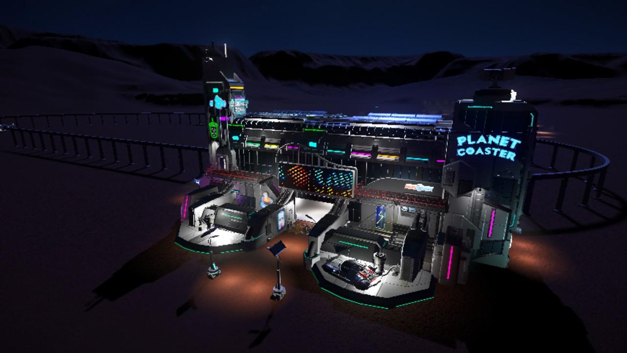 Sci-Fi Park Entrance, Monorail