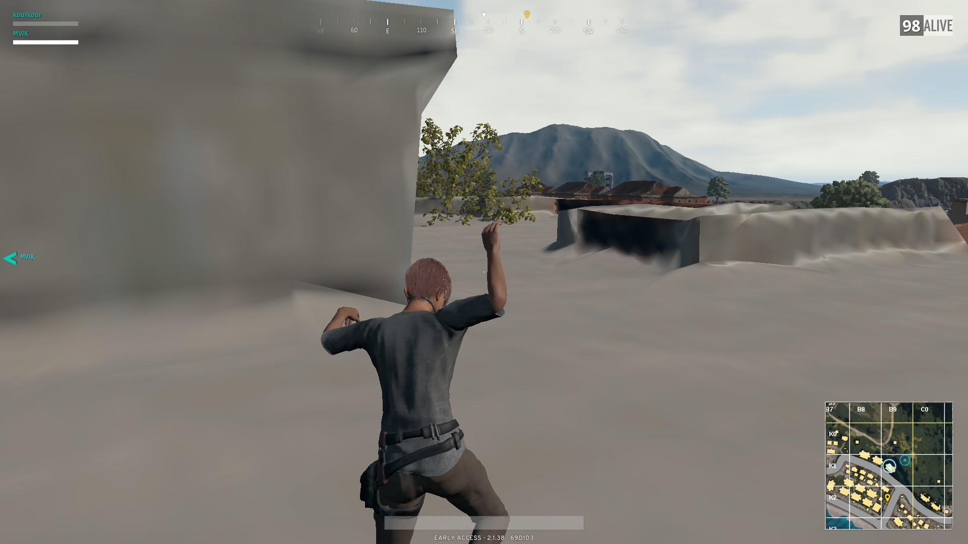 PUBG - Textures not loading fully for first 1-2min  [HELP