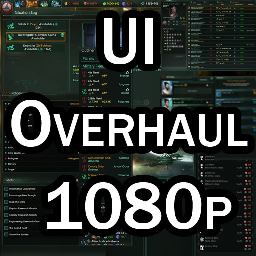 Steam Workshop::UI Overhaul 1080p Plus