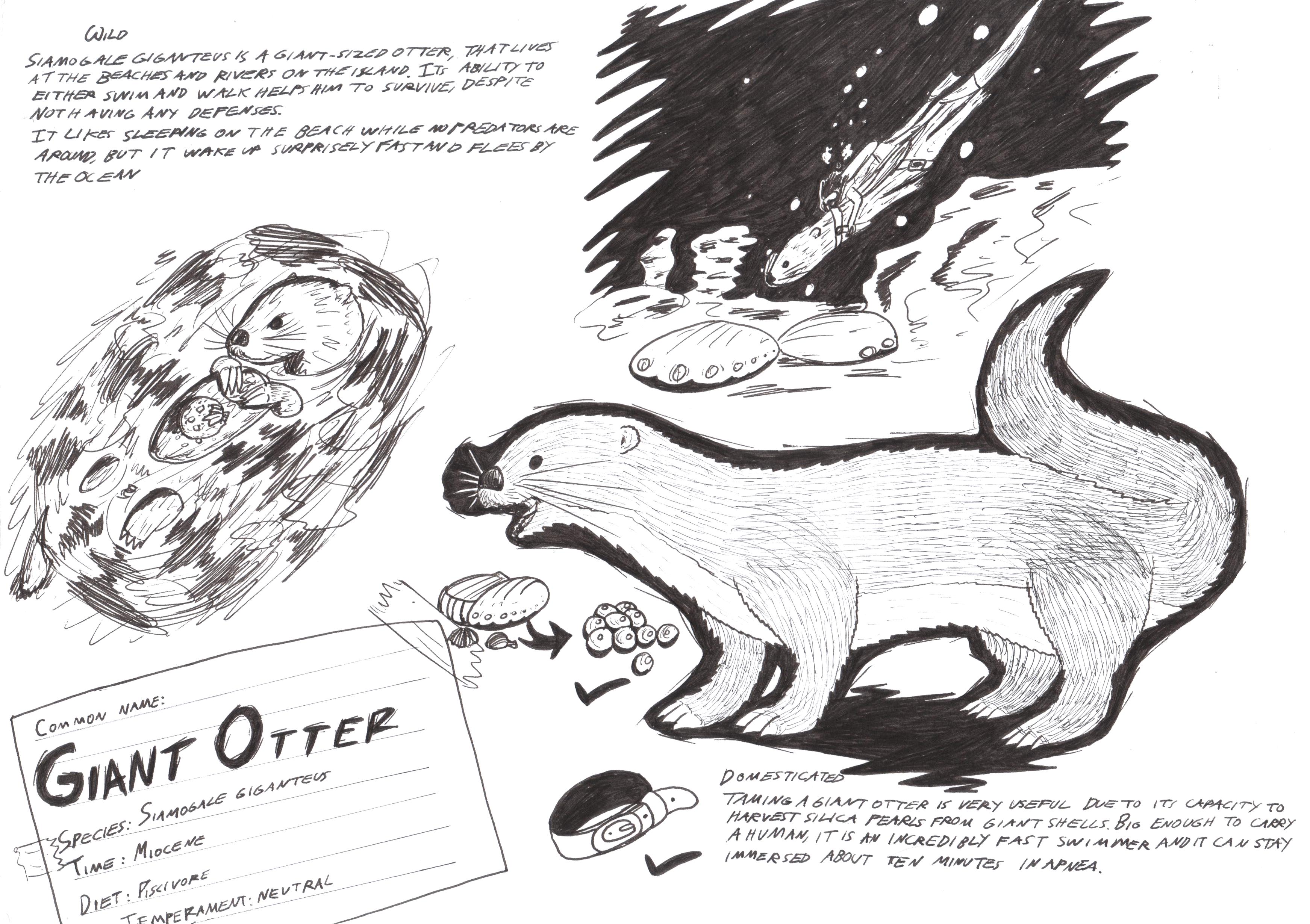 steam community siamogale giant otter dino dossier. Black Bedroom Furniture Sets. Home Design Ideas