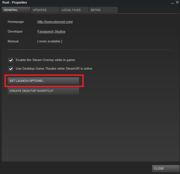 Steam Community :: Guide :: How to optimise Rust on your PC (A K A