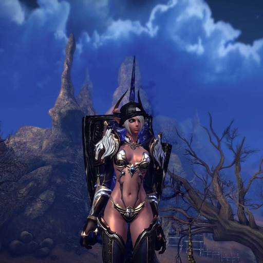 Steam Workshop::Castanic Female Lancer Idle Animation In