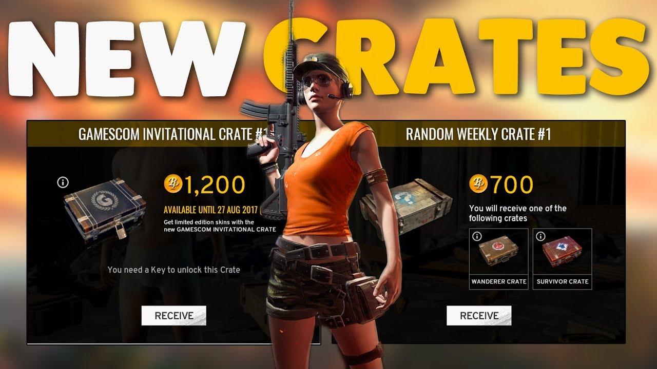 pubg crates rare items
