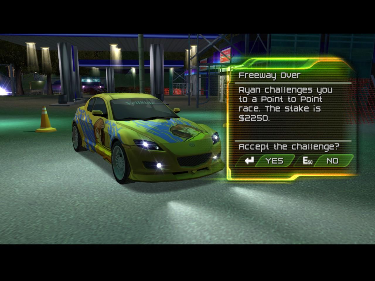 Street racing syndicate car list