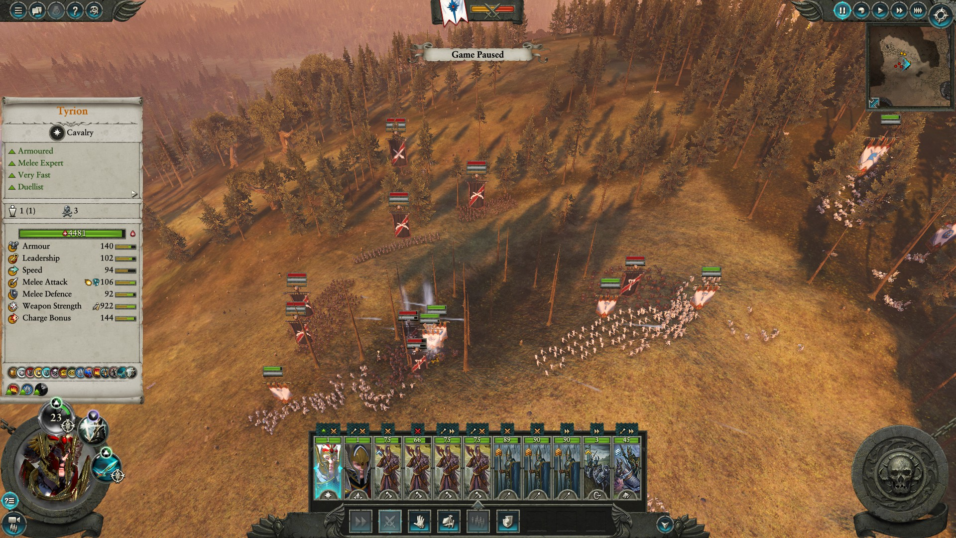Tyrion is pretty good : totalwar