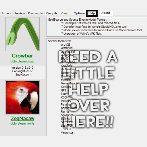 Steam Community :: Guide :: A Complete Guide for Using Crowbar