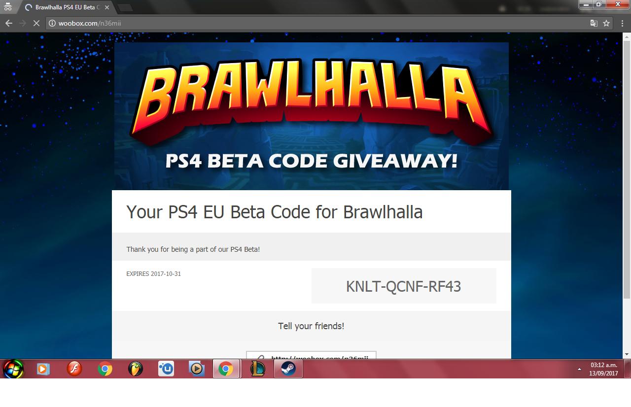 Steam Community :: Guide :: Como Canjear Brawlhalla beta
