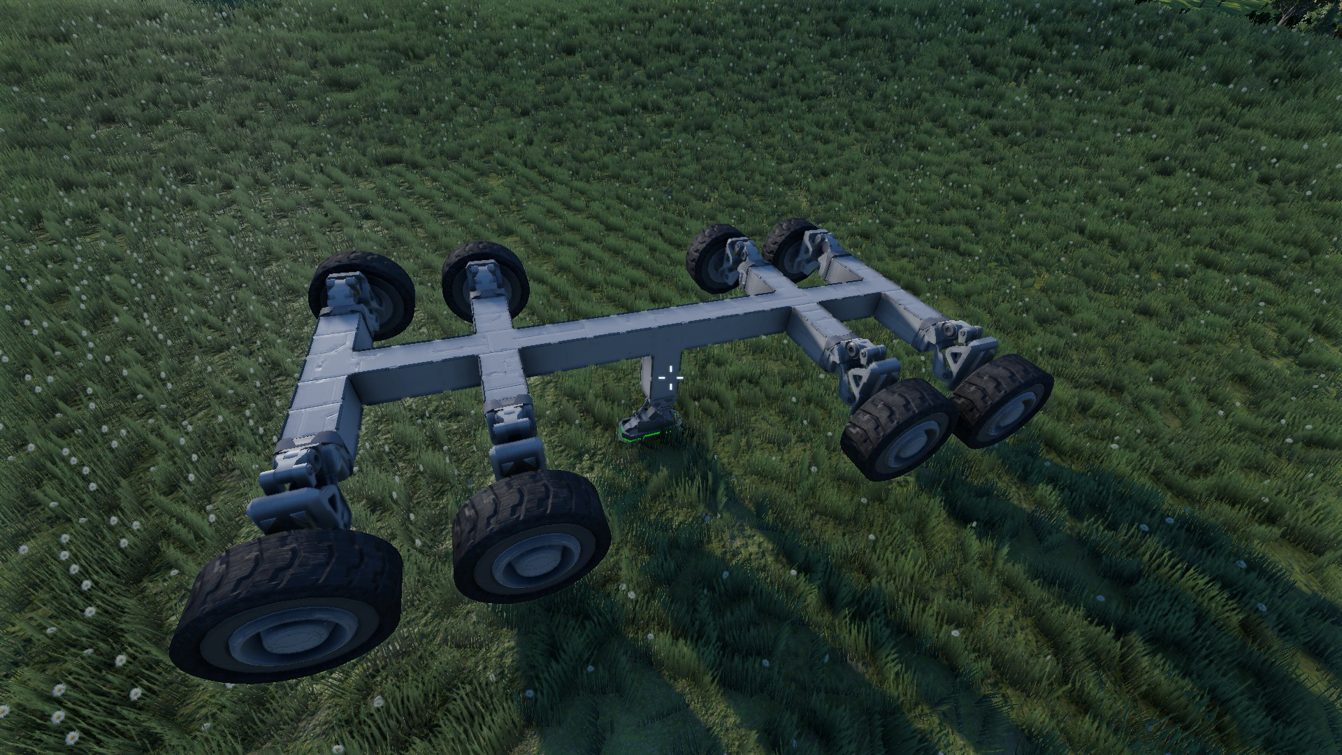 You Could Have Them Evenly Ed Along The Length Of Rover But I Find That If Want To Do Then 6 Wheels Is A Better Choice