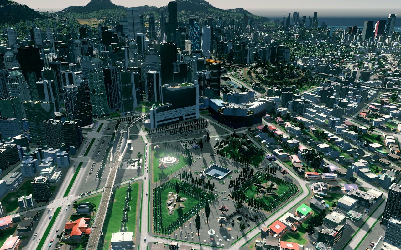 image Grande place urbaine