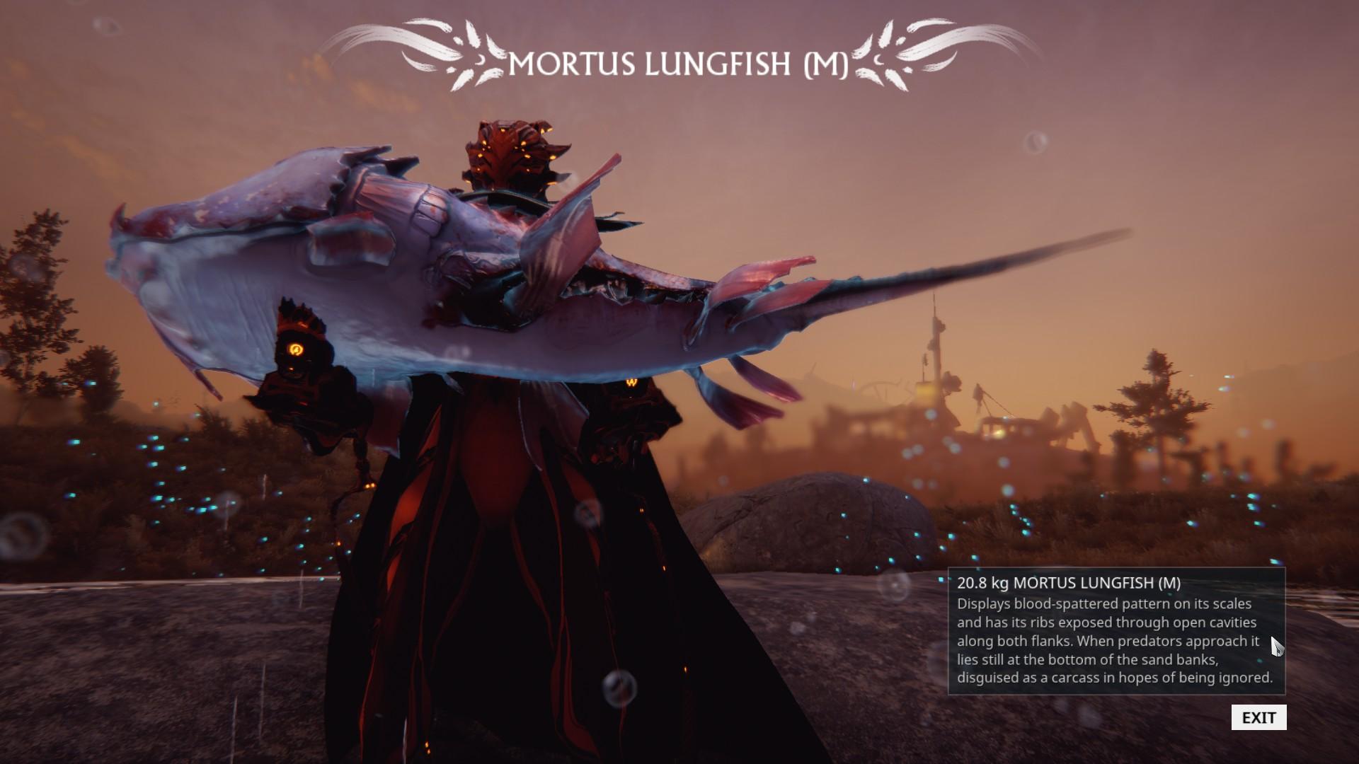 mortus fish warframe