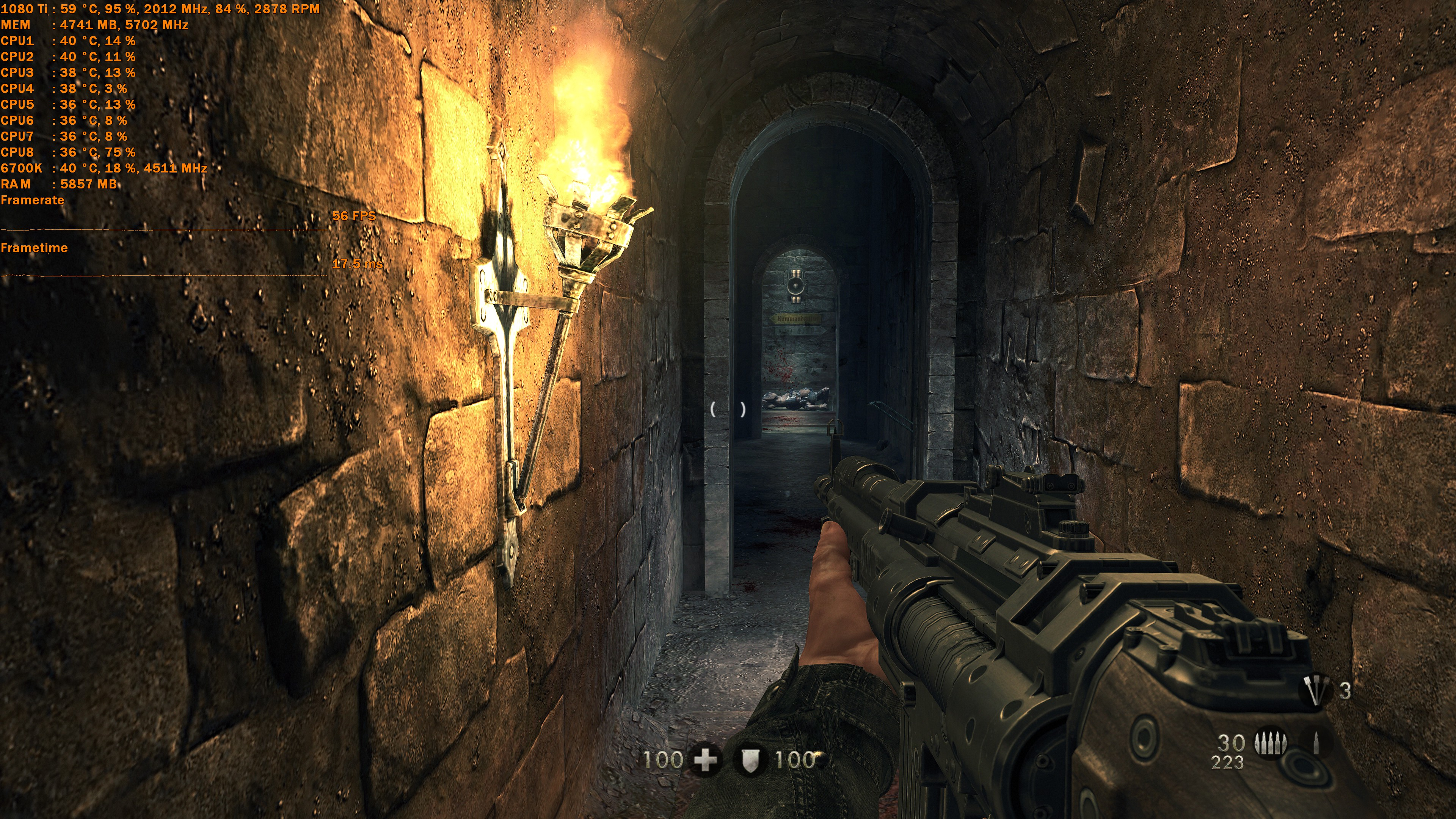 Optimal Setup for Wolfenstein: The New Order and The Old Blood   IGN