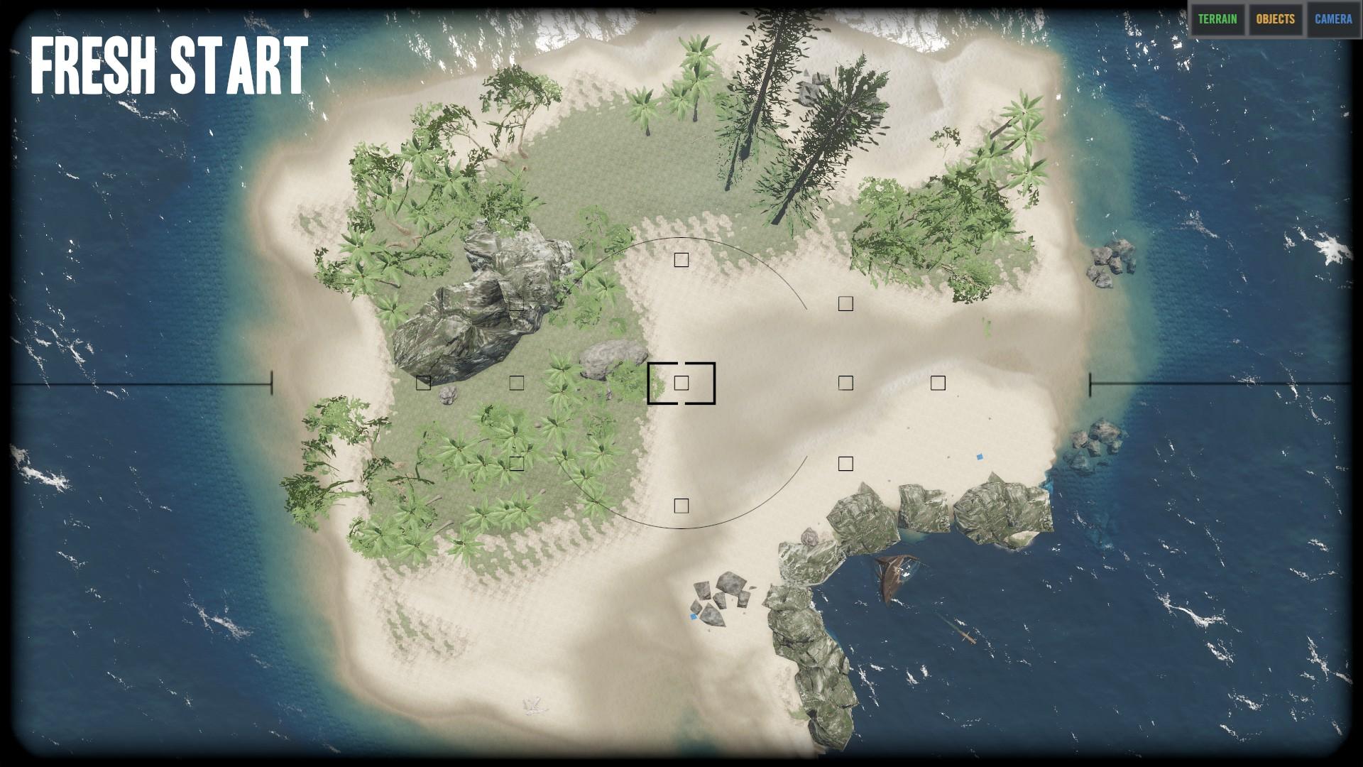 Stranded Deep World Map.Steam Community Screenshot Map Fresh Start V0 36 Map Top